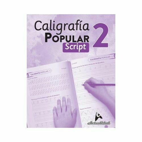 Caligrafia Popular Script 2. Nivel Inicial. Actualidad
