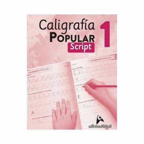 Caligrafia Popular Script 1. Nivel Inicial. Actualidad