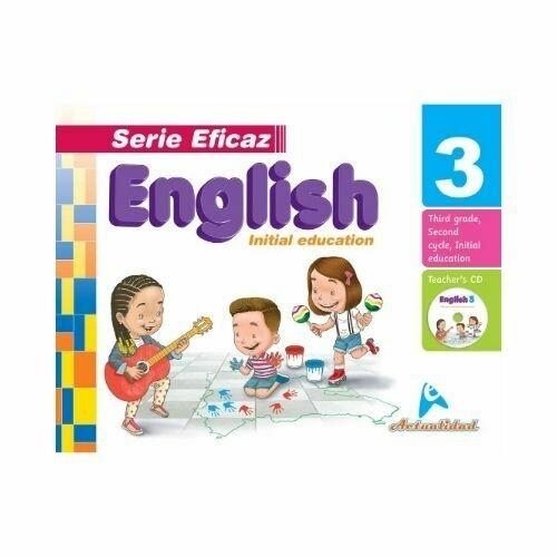 English (Ingles) 3. Serie Eficaz. Nivel Inicial. Actualidad
