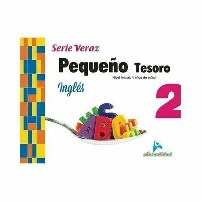 Ingles Pequeño Tesoro 2. Serie Veraz. Nivel Inicial. Actualidad
