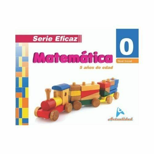 Matematica 0. Serie Eficaz. Nivel Inicial. Actualidad
