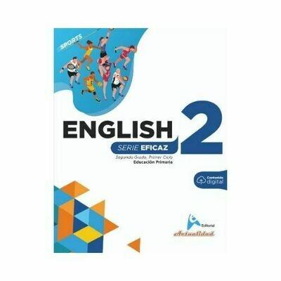 English (Ingles) 2. Serie Eficaz. Primaria. Actualidad