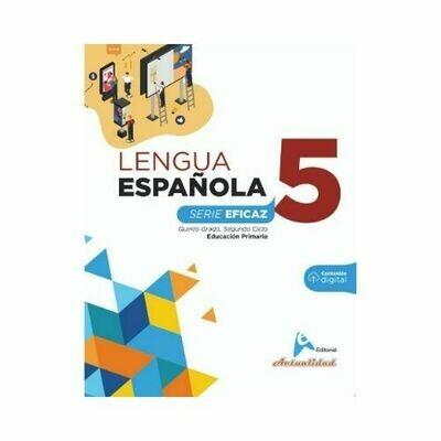 Lengua Española 5. Serie Eficaz. Primaria. Actualidad