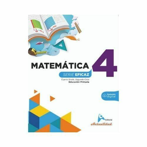 Matematica 4. Serie Eficaz. Primaria. Actualidad