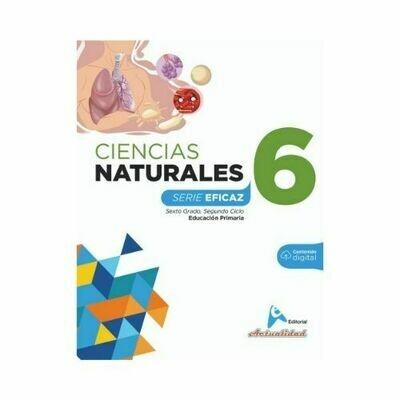 Ciencias de la Naturaleza 6. Serie Eficaz. Primaria. Actualidad