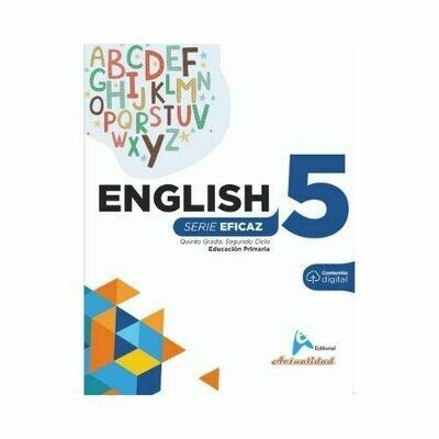 English (Ingles) 5. Serie Eficaz. Primaria. Actualidad