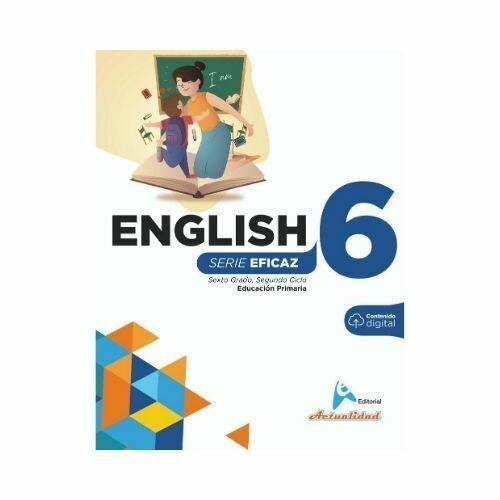English (Ingles) 6. Serie Eficaz. Primaria. Actualidad