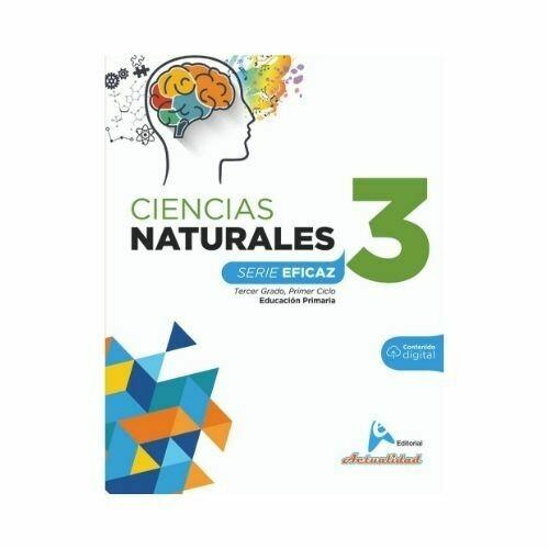 Ciencias de la Naturaleza 3. Serie Eficaz. Primaria. Actualidad