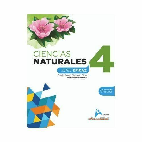 Ciencias de la Naturaleza 4. Serie Eficaz. Primaria. Actualidad