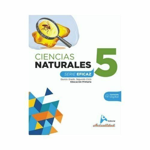 Ciencias de la Naturaleza 5. Serie Eficaz. Primaria. Actualidad