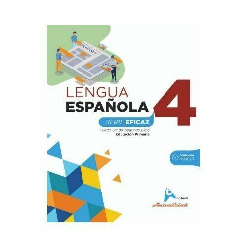 Lengua Española 4. Serie Eficaz. Primaria. Actualidad
