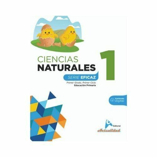 Ciencias de la Naturaleza 1. Serie Eficaz. Primaria. Actualidad
