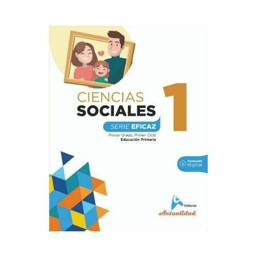 Ciencias Sociales 1. Serie Eficaz. Primaria. Actualidad