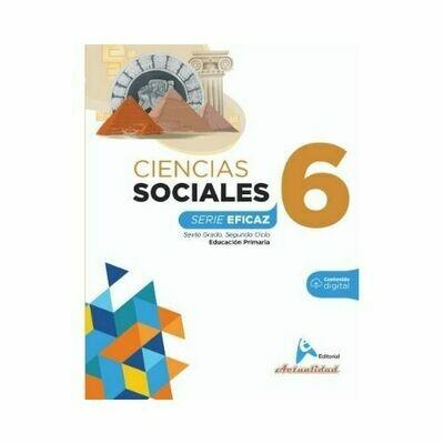 Ciencias Sociales 6. Serie Eficaz. Primaria. Actualidad