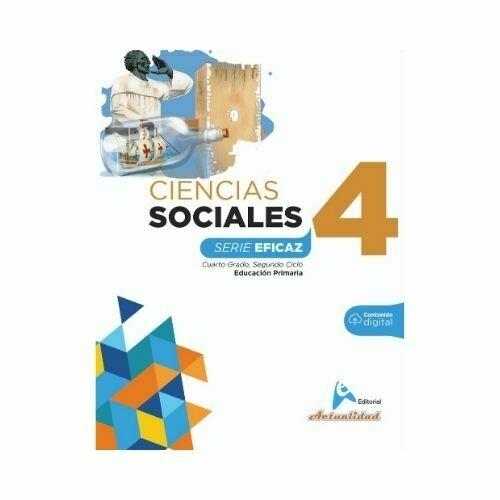 Ciencias Sociales 4. Serie Eficaz. Primaria. Actualidad