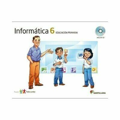 Kit Informatica 6. Primaria. Serie Todos Juntos. Santillana