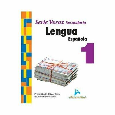 Lengua Española 1. Serie Veraz. Secundaria. Actualidad
