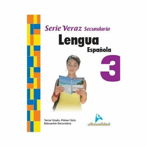 Lengua Española 3. Serie Veraz. Secundaria. Actualidad