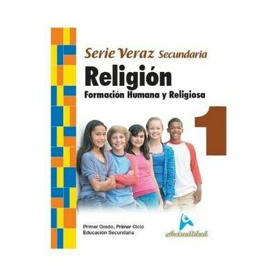 Formacion Humana y Religiosa 1. Serie Veraz. Secundaria. Actualidad