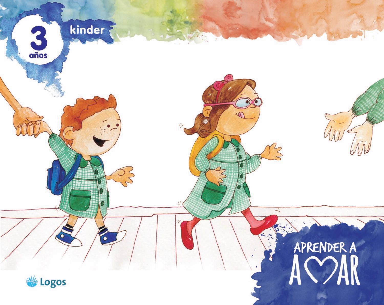 Aprender a amar, Kinder 3 años, licencia digital, Logos