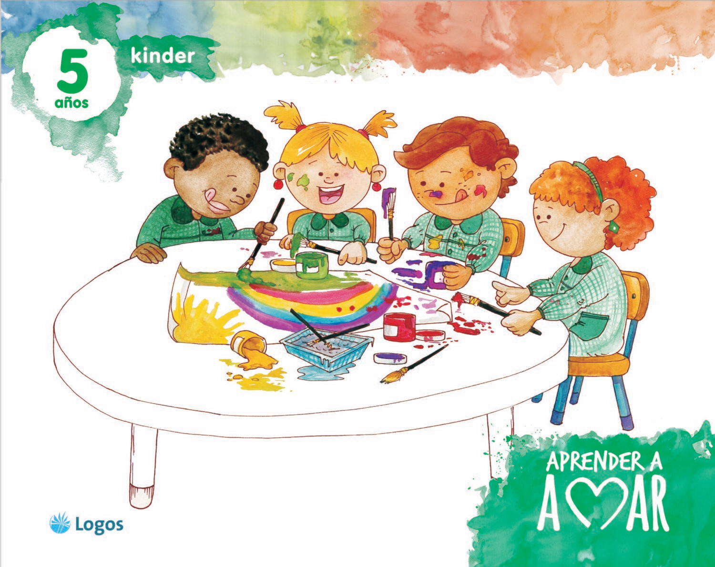 Aprender a amar, Kinder 5 años, licencia digital, Logos