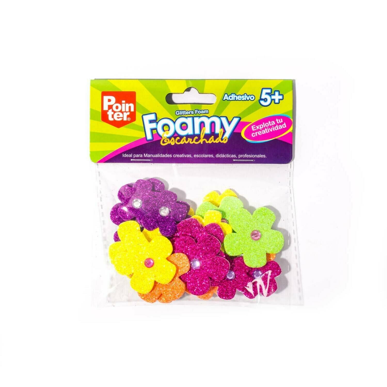 Flores Escarchadas Foamy Mini Figuras Pointer