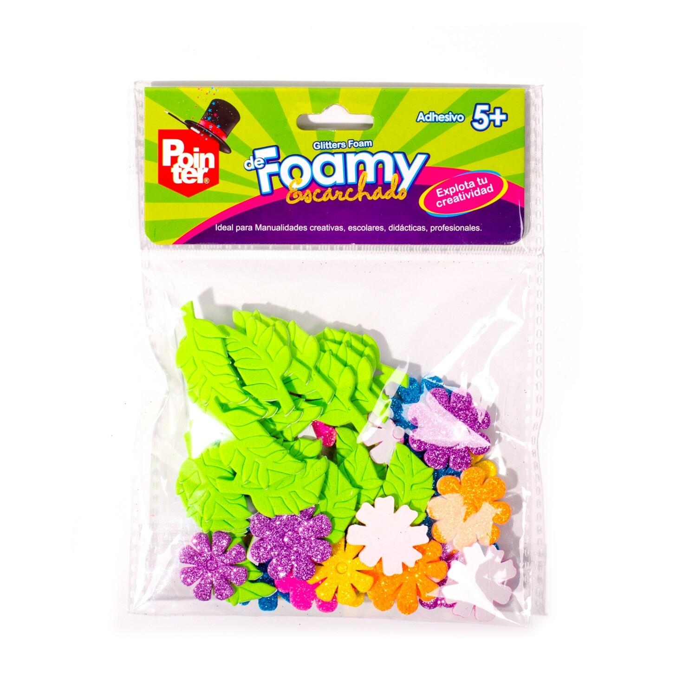 Foamy Flores/Hojas Escarchado Pointer