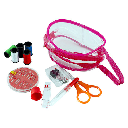 Kit de Costura con Bolso Plastico