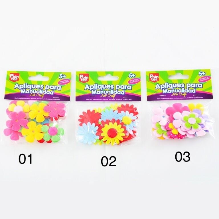 Flores de Foamy Colores Surtidos Pointer
