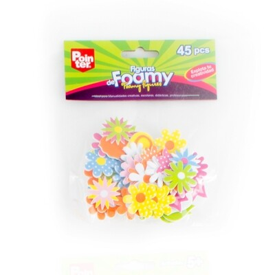 Flores Surtidas Foamy 45/1 Pointer