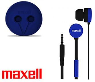 Audifono Alambrico C/Microfono Azul Maxell