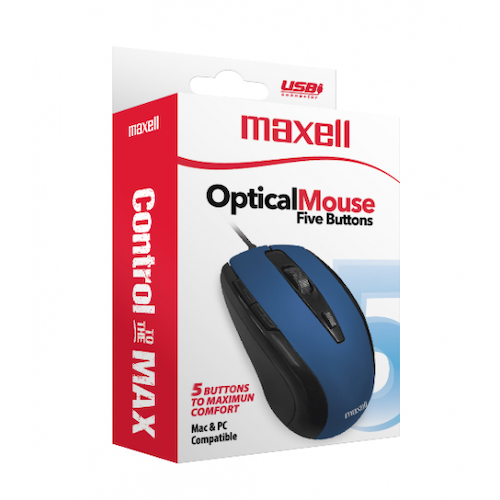 Mouse Inalambrico USB MOWL-250 Azul