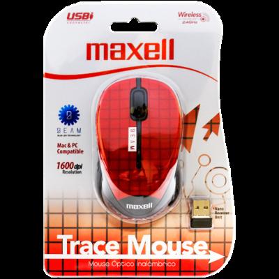 Mouse Inalambrico USB MOWL-250 Rojo