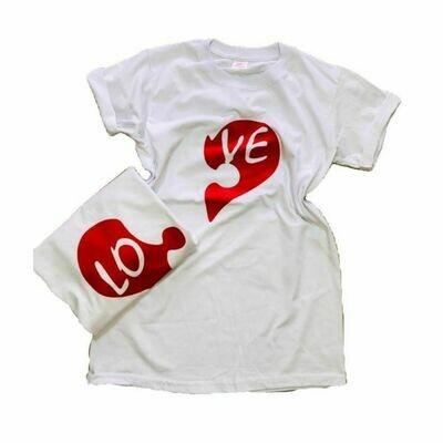 Tshirts personalizados con diseño en la parte frontal