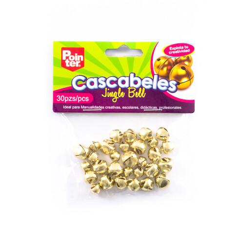 Cascabeles Dorados Pequeños Pointer 30/1