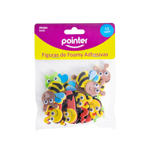 Mini Animales en Foamy C/Ojitos Pointer