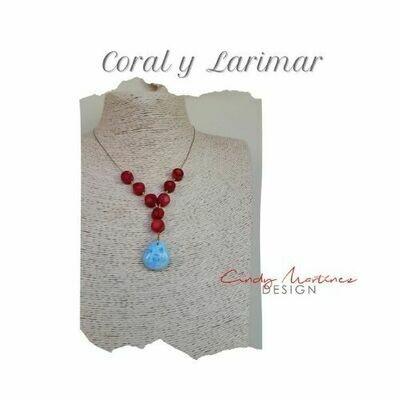 Coral y Larimar by Cindy Martinez