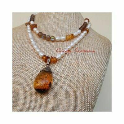 Collar Amber by Cindy Martinez