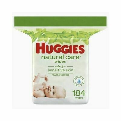 Toallitas Humedas Huggies Natural Care 184/1