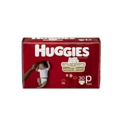 Pañales Huggies Little Snuglers Premies 30/1