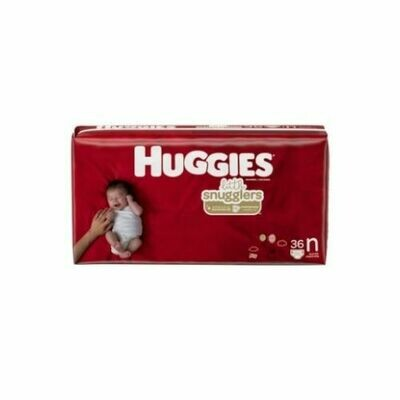 Pañales Huggies Little Snugglers NB 36/1