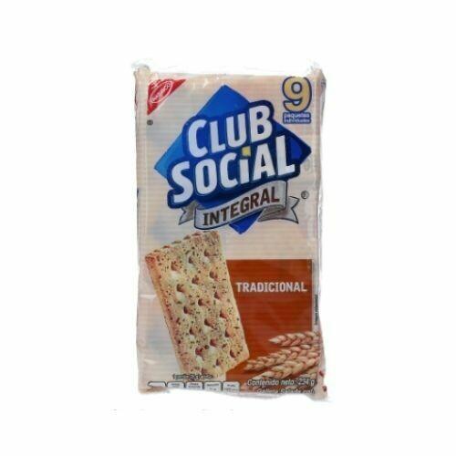 Galletas Club Social Saladas Integral 234G