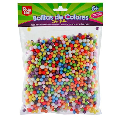 Bolitas de Colores en Foam Pointer