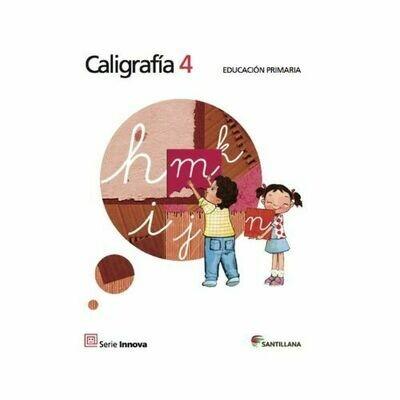 Caligrafia 4. Primaria. Serie Innova. Santillana