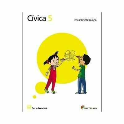 Civica 5 (Libro). Primaria. Serie Innova. Santillana