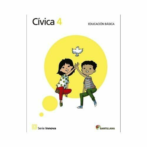 Civica 4 (Libro). Primaria. Serie Innova. Santillana