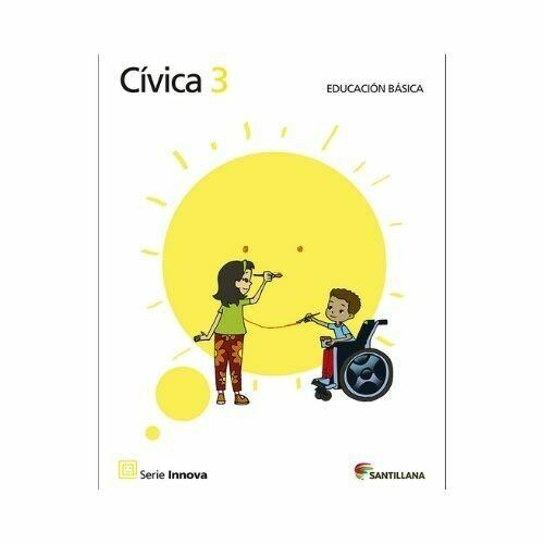 Civica 3 (Libro). Primaria. Serie Innova. Santillana