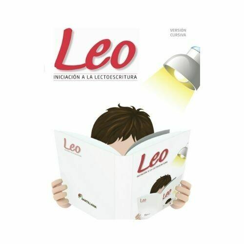 Leo - Cursiva. Nivel Inicial. Santillana