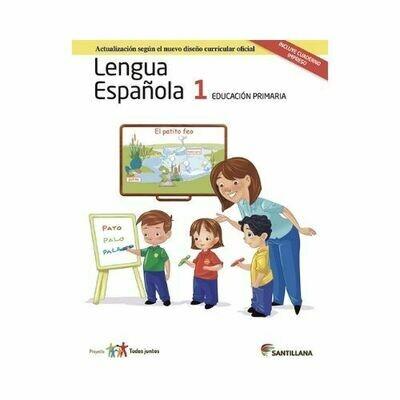 Pack Lengua Española 1. Primaria. Serie Todos Juntos 2017. Santillana