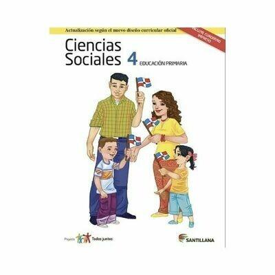 Pack Ciencias Sociales 4. Primaria. Serie Todos Juntos 2017. Santillana